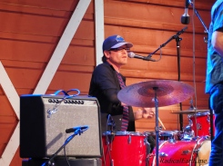 Yarns drummer masterfully keeps the beat