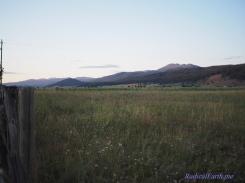 Jug Handle mountain at sunset