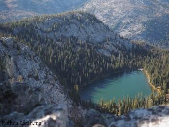 Snowslide lake