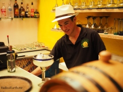 Diego Hernandez, prepares a perfect margarita for me! Not too sweet, not too dry, and with Mexicos finest Tequila, Tio Billy