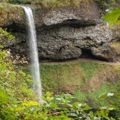 Lower South Falls ~ Silver Falls State Park, Oregon, U.S.A.