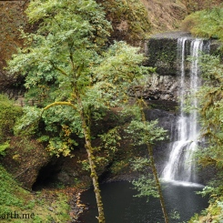 Lower North Falls ~ Silver Falls State Park, Oregon, U.S.A.
