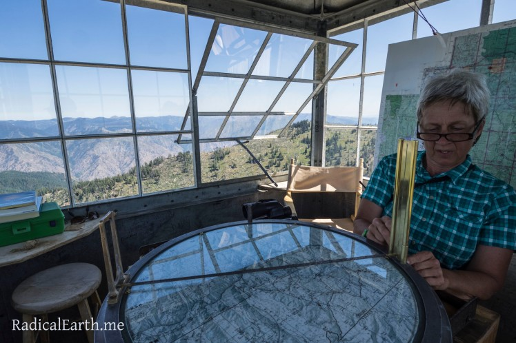 Fire Lookout Staff