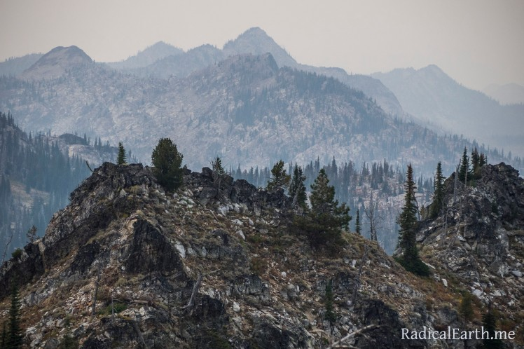 Smoky Layers ~ Lick Creek Subrange Salmon River Mountains